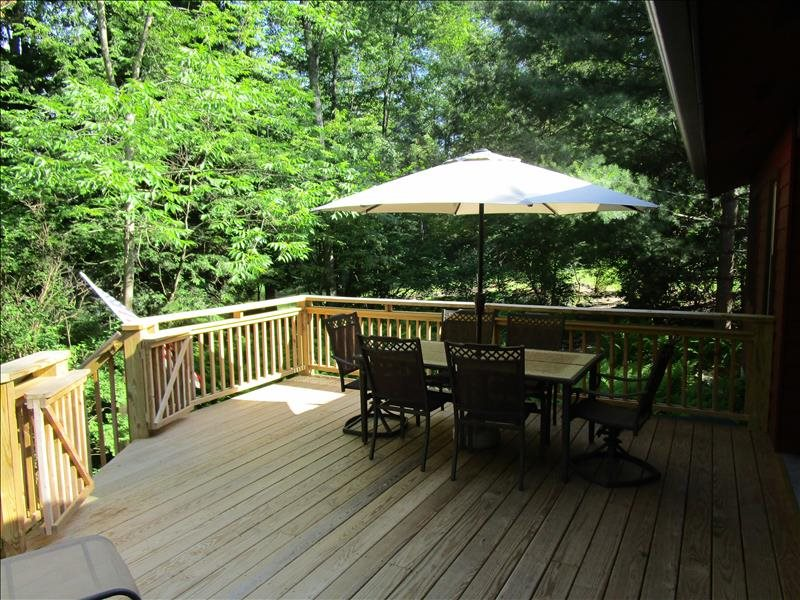 Fountain Cottage FrontDeck