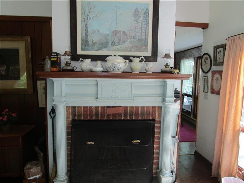 Eyrie Living Room Fireplace